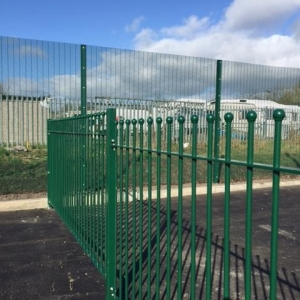 Amenity Fencing And Access Control For Traveller Site