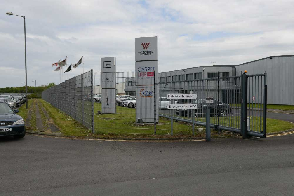 2.40m High Sliding Gate at Whitestone Weavers, Hartlepool.