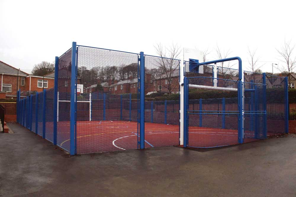 Community Ball Court MUGA in Gateshead.
