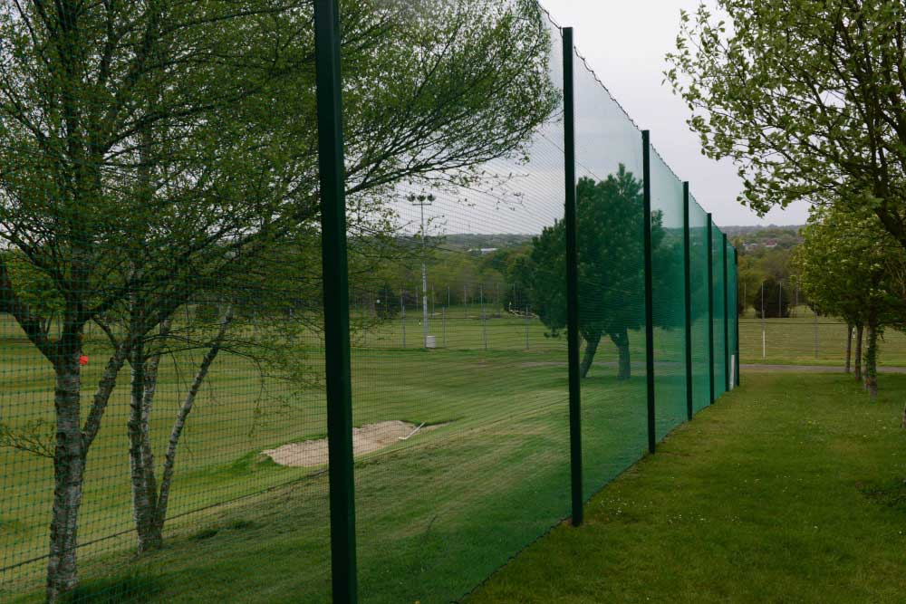 Ball Stop Netting at The Oakleaf Sports Complex, Newton Wycliffe, North England
