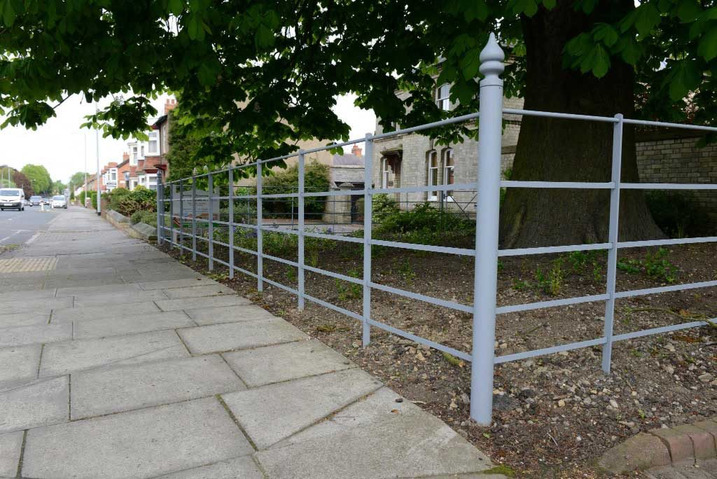 Estate Bar Railing at Bussy & Armstrong, domestic property, Darlington Office