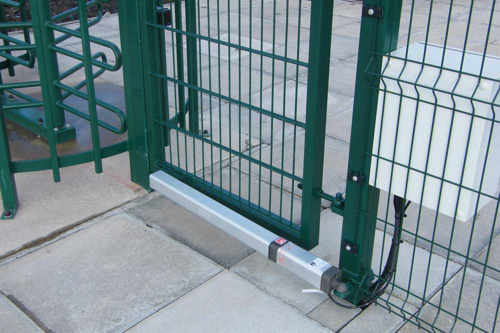 Turnstile access control at BAE Systems
