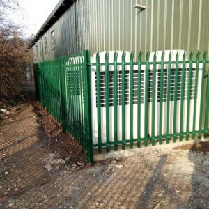 Palisade Fencing in Stock