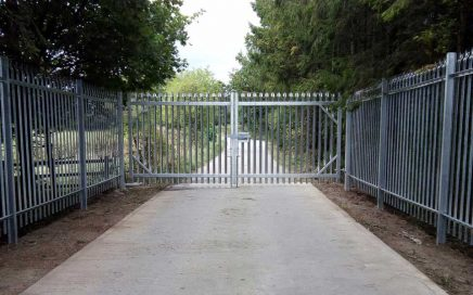 secure the site entrance at Dalton on Tees