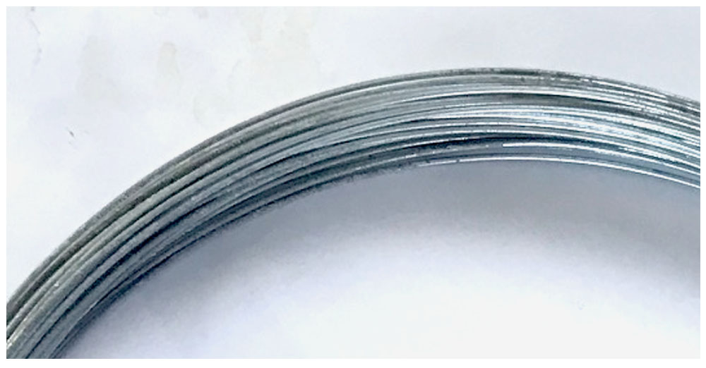 1.6mm galvanised Tying wire