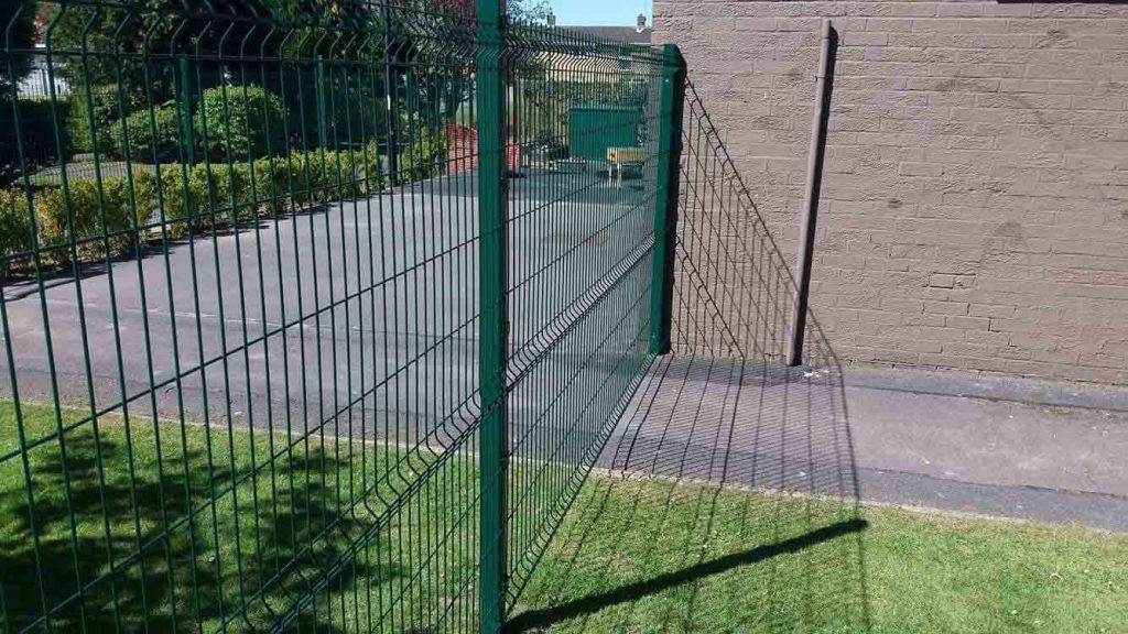 Internal fencing helps school safe guarding of pupils