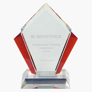 Betafence award winner Backworth Park Primary School