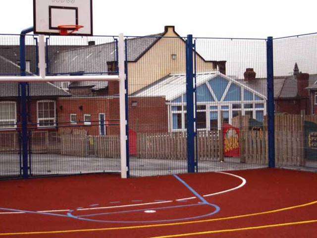 Ball Court MUGA in Gateshead3