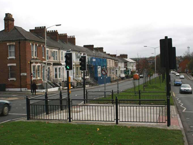 Pedestrian crossing in Darlington