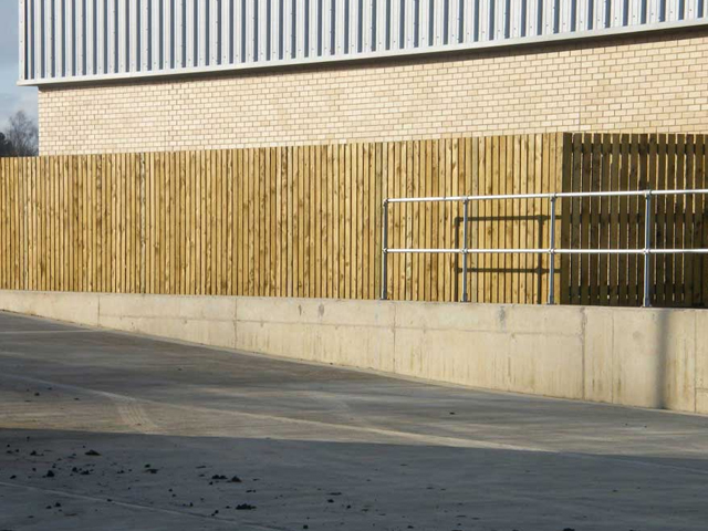 Timber fencing north east